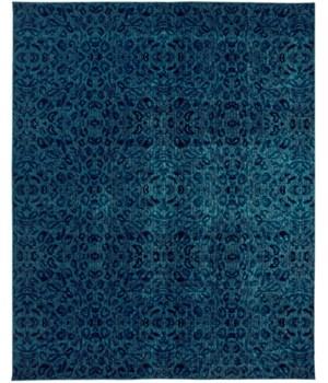"""REMMY 3424F IN BLUE / DARK BLUE 4'-3"""" X 6'-3"""""""