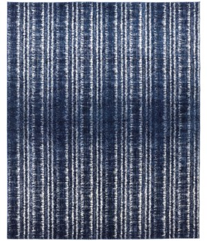 "REMMY 3425F IN DARK BLUE/IVORY 1'-6"" X 1'-6"" Square"