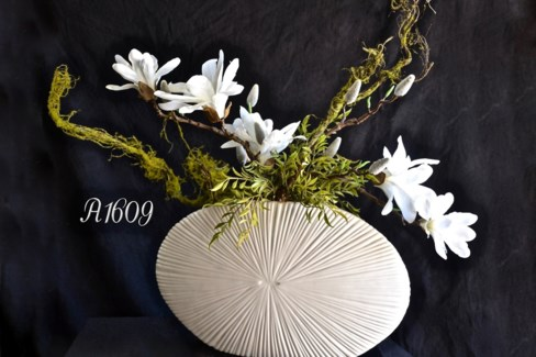 WHITE MAGNOLIA ARRANGEMENT