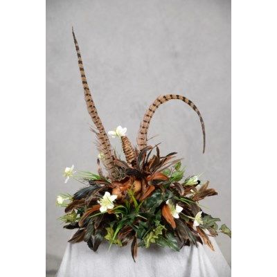 NIGELLA, PODS & FEATHERS CTPC TILE TOPPER