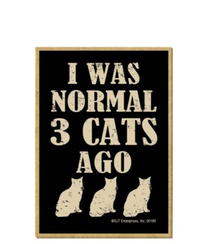 Normal 3 Cats Ago Magnet