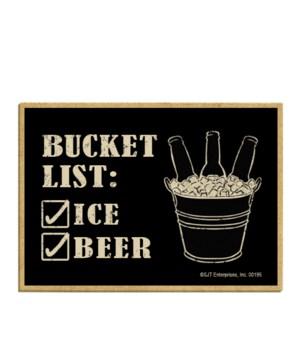 Bucket List: _Ice _Beer (3 bottles in ic