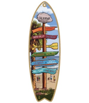 Destination Palm-Beach Custom Surfboard
