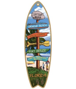 Destination Palm-Camp Custom Surfboard