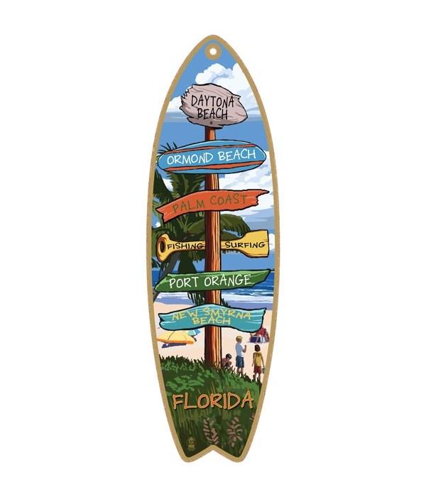 Destination Palm-Camp Custom Surfboard