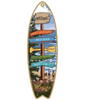 Destination Pine-Beach Custom Surfboard