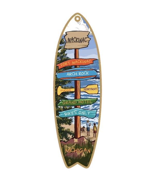 Destination Pine-Beach Custom Surfboard