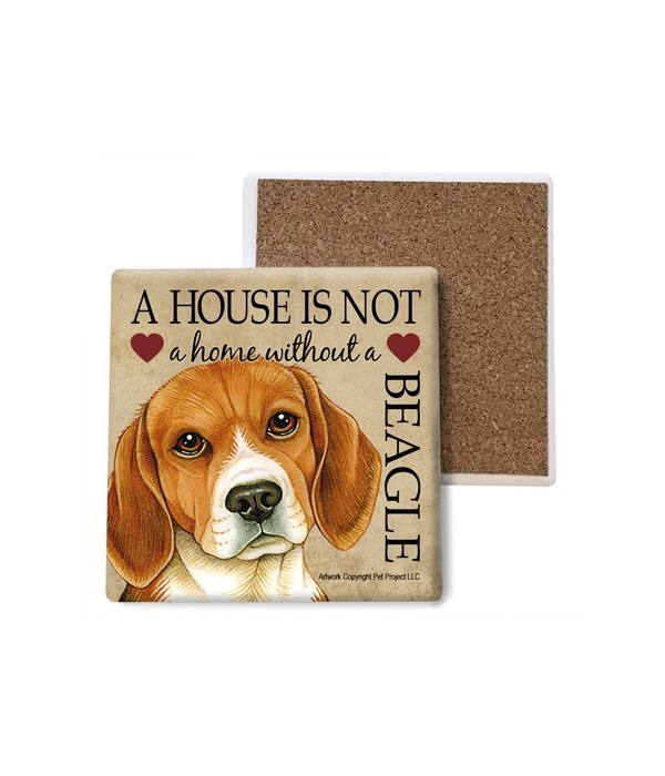 A house is Not a home without a Beagle c