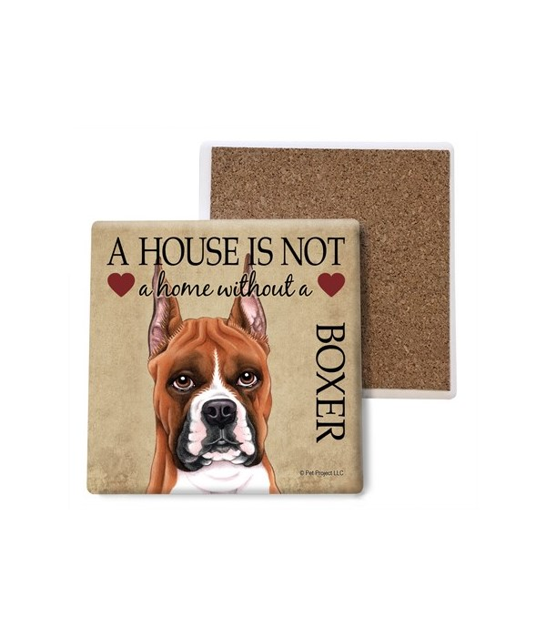 A house is Not a home without a Boxer co