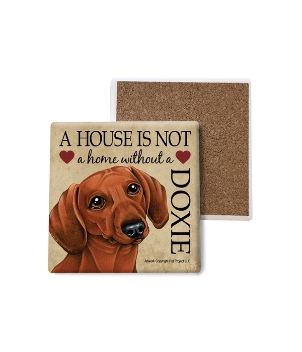 A house is Not a home without a Dachshun
