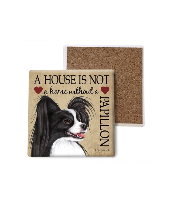 A house is Not a home without a Papillon