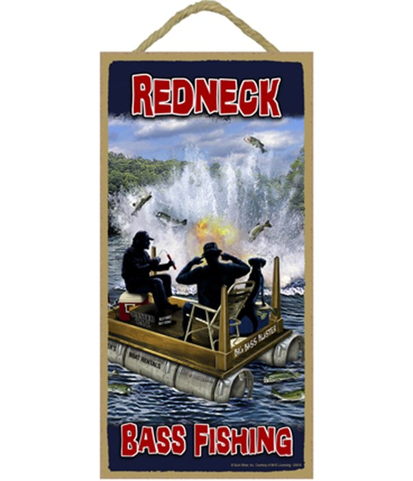 Redneck Bass Fishing 5x10