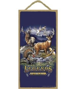 Legends of the Fall (w/ elk, deer, pheas