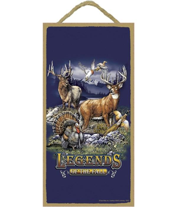 Legends of the Fall (w/ elk, deer, pheas