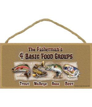 The Fisherman's 4 Basic Food Groups Trou