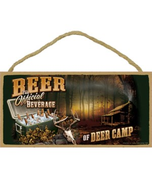 BEER The Official Beverage of Deer Camp