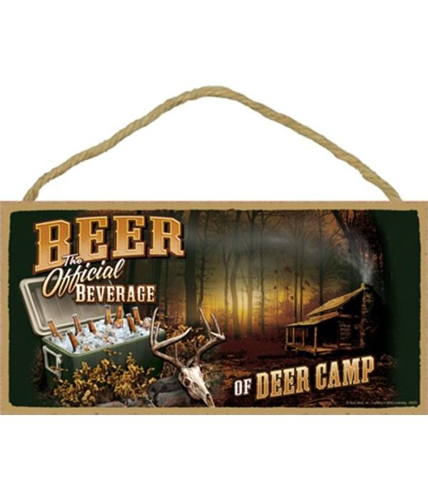 BEER The Official Beverage of Deer Camp