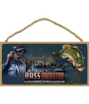 BASS PREDATOR Go With Your Instincts 5x1