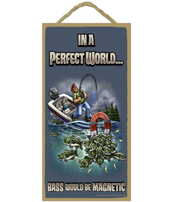 In A Perfect World… BASS Would Be MAGNET
