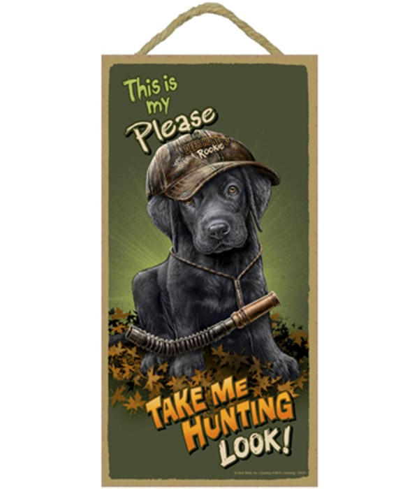 This is my Please Take Me Hunting Look!