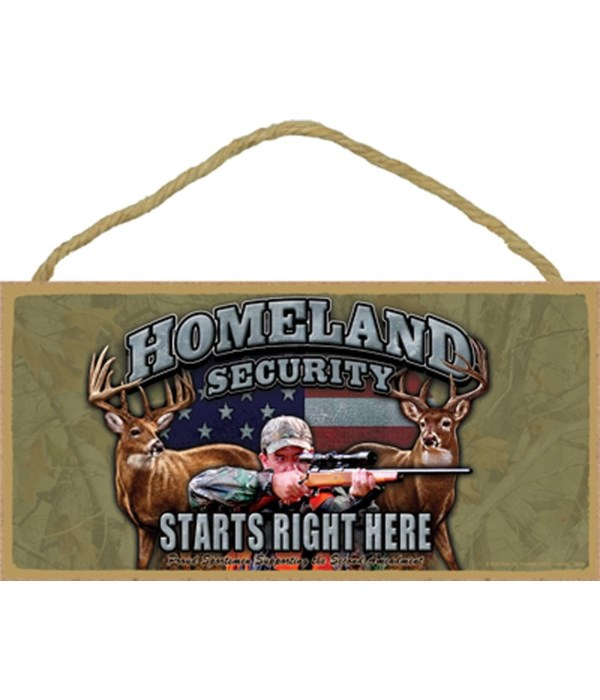 HOMELAND SECURITY Starts Right Here 5x10