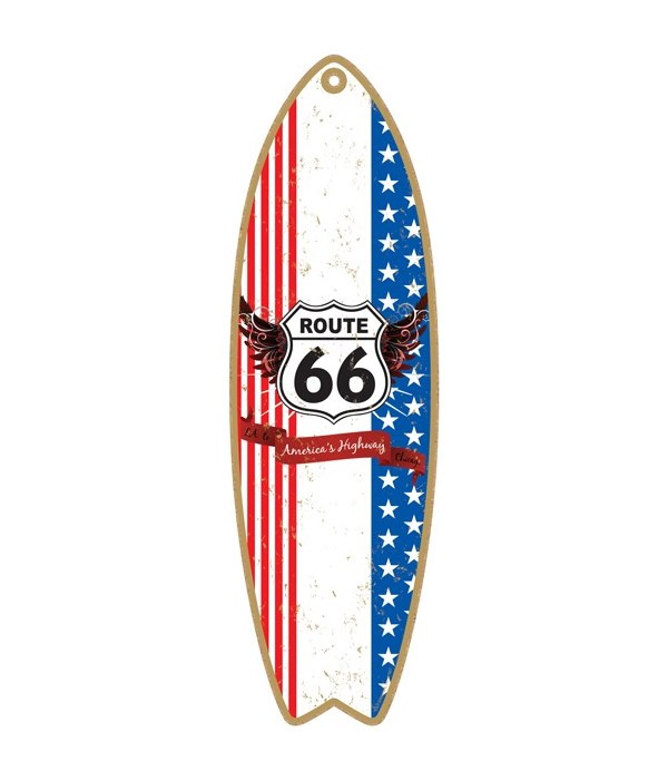 Route 66 - America's Highway - LA to Chi