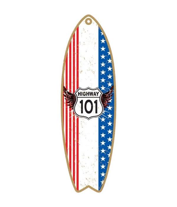 Highway 101 Surfboard