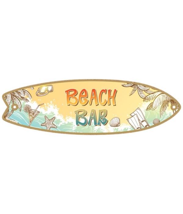 Beach Bar Surfboard