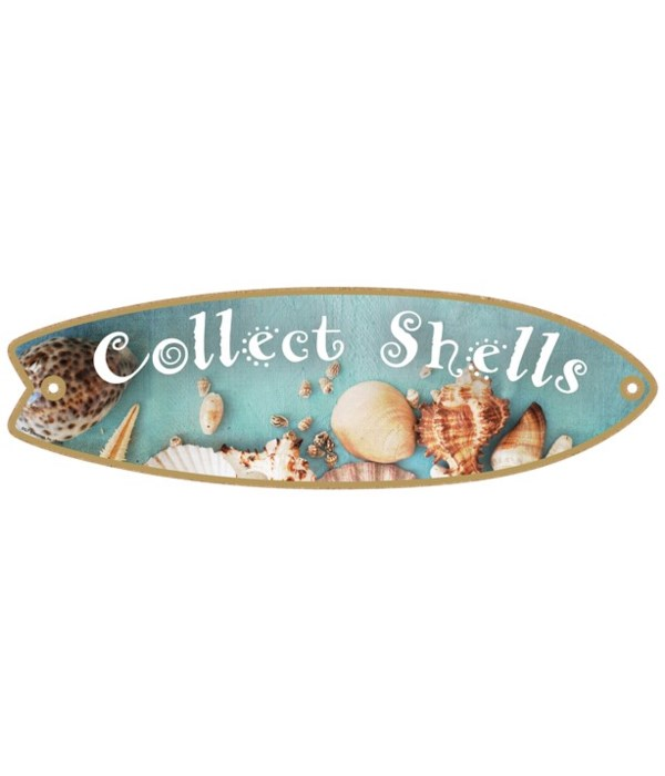 Collect Shells Surfboard