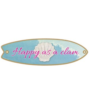 Happy as a clam Surfboard