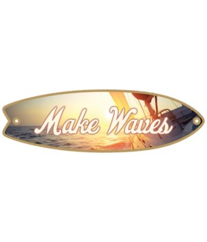 Make Waves Surfboard