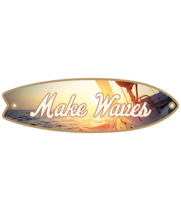 Make Waves Surfboard