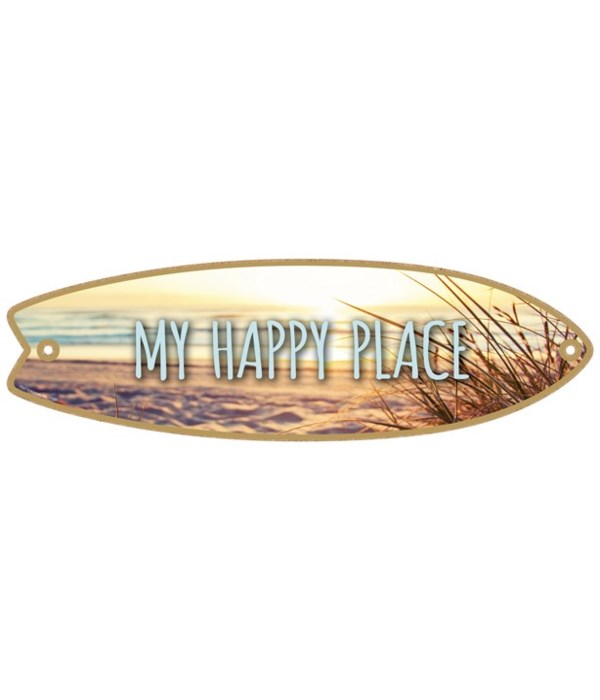 My happy place Surfboard