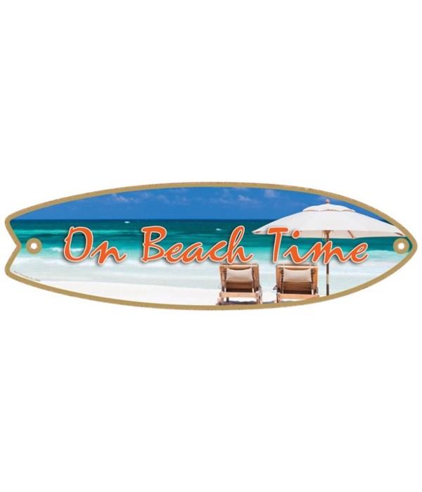 On Beach Time Surfboard