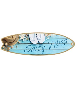 Salty Vibes Surfboard