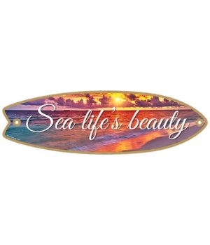 Sea life's beauty Surfboard