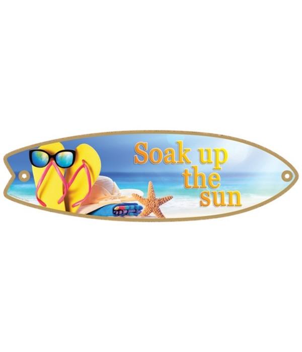 Soak up the sun Surfboard