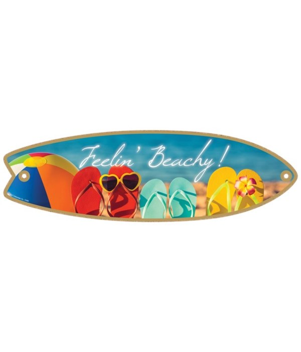 Feelin' Beachy! Surfboard
