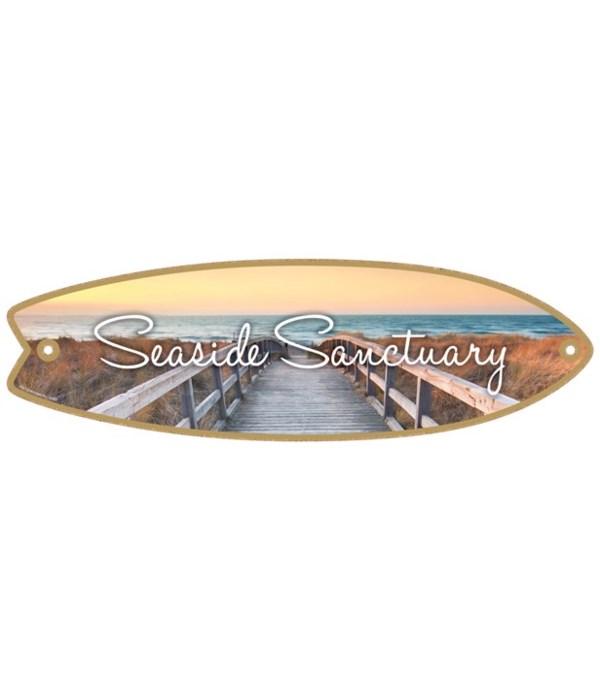 Seaside Sanctuary Surfboard