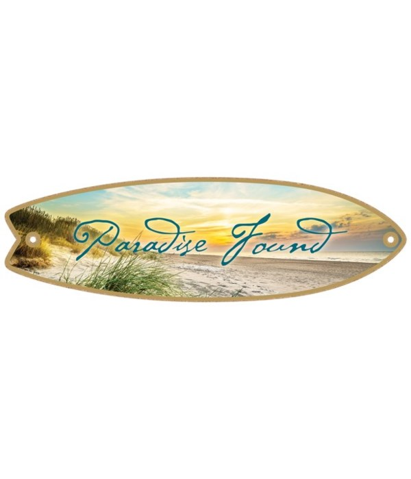 Paradise Found Surfboard