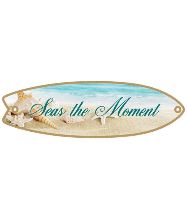 Seas the Moment Surfboard