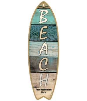 Beach - Vertical type