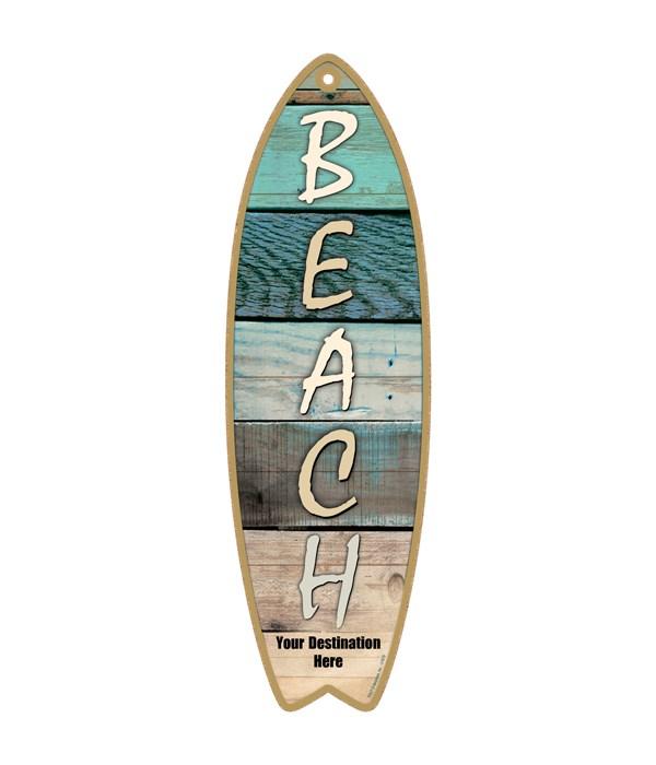Beach - Vertical type