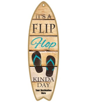 It's a Flip Flop kinda day - teal flip f