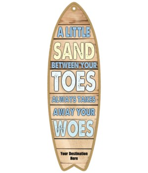 A little sand between your toes always t