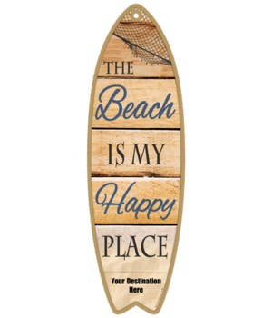The Beach is my Happy Place - Coastal
