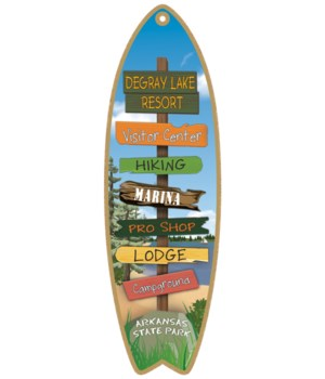 Destination Forest Lake Surfboard