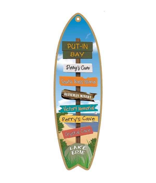Destination Lake Beach Surfboard