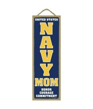 USA NAVY MOM Honor 5x15