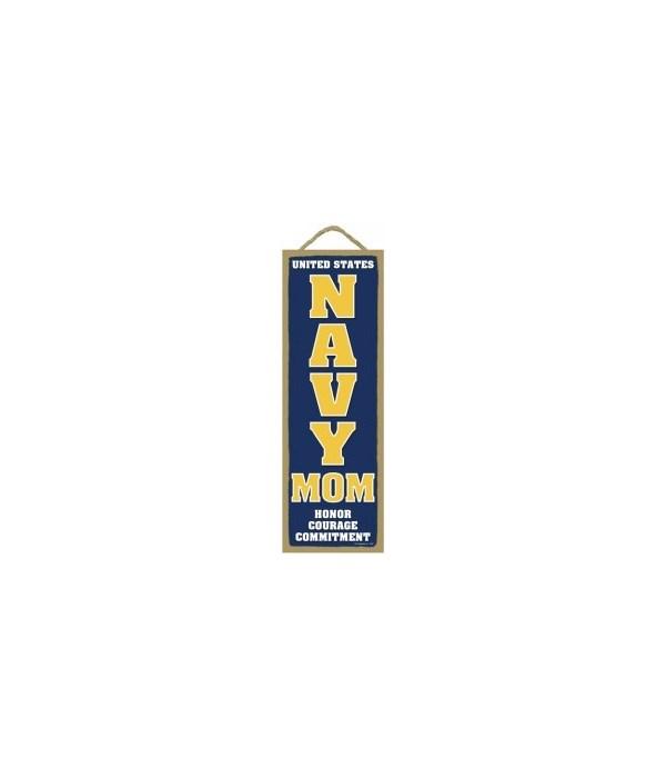 USA NAVY MOM Honor 5x15